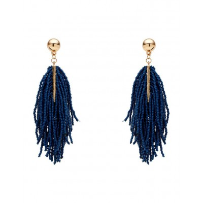 David Lawrence Womens Fringe State Bead Earrings boutique XGQEGRP -