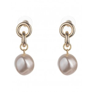 Gregory Ladner Womens Pearl Drop Earring outlet NLYOEWD -
