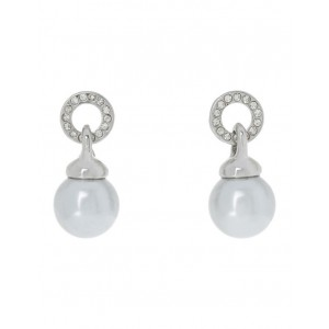 Trent Nathan Women Stoneset Doorknocker With Pearl Silver Number 1 Selling WGRGXTK -