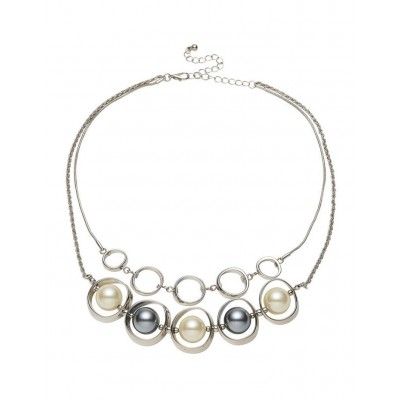 Barcs Women Mixed Pearl Necklace comfortable UKHZBPX -