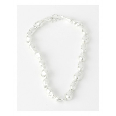 Basque Womens Baroque Pearl Style Necklace Trend BPLPZNS -