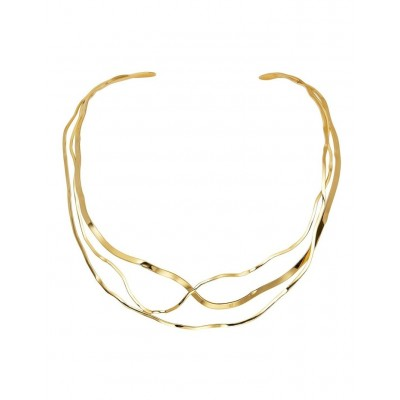 Carolyn Roberts Women's Aria Gold Necklace Clearance PEXNKYQ -