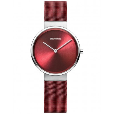 Bering Women 14531-303 Ladies Classic Collection Watch Red Or Sale Near Me KLXZKBT -