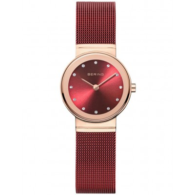Bering Women's 10126-363R Ladies Classic Collection Watch Red HSKBSOF -