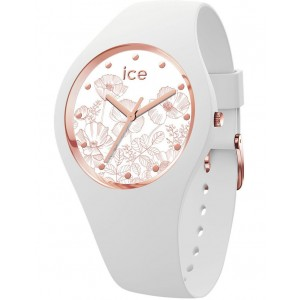 ICE-Watch Womens Ice Flower Spring White Small Watch Trends BTSOXKF -