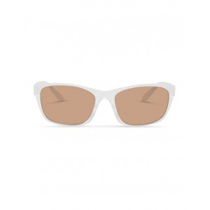 Dresden Vision Women's Clear Frost UV Protected Polarised Sunglasses with Brown Tint new look URPTLVX -
