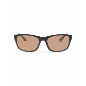 Dresden Vision Women's Slate Grey UV Protected Polarised Sunglasses with Brown Tint VCXWYUJ -