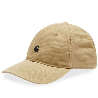 Women's Carhartt WIP Madison Logo Cap Leather & Black For Work Casual DUBR389