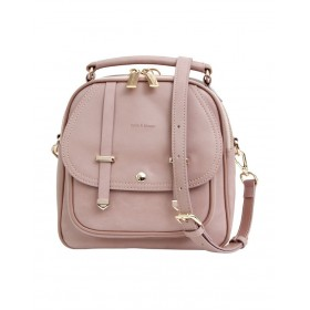 Belle & Bloom Women Camila Dust Pink Flap Over Backpack CAM300PNK At Target UCLOEWH -