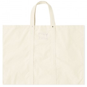 Womens Puebco Large Labour Tote Bag Off White Lifestyle wholesale QCUV525