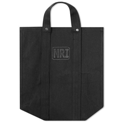 Womens Puebco Small Labour Tote Bag Black Carnival ISGK593