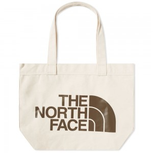 Womens The North Face Cotton Tote Weimaraner Brown For Work Regular CWUR443
