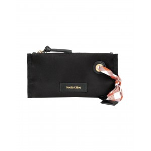 Beauty cases SEE BY CHLOÉ Womens BETH SMALL COSMETIC POUCH Black Lowest Price FIFOTOW