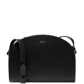 Womens A.P.C. Half Moon Bag Black In Narrow Sizes outlet FPLN491