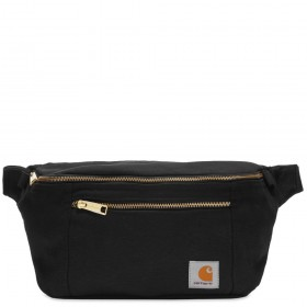 Women's Carhartt WIP Canvas Hip Bag Black & Black For Working Out PYJK171