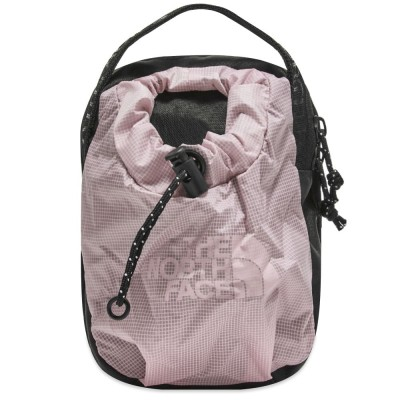 Womens The North Face Bozer Cross Body Bag Pink Tint In Narrow Sizes OZHR278