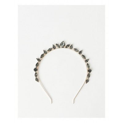 Collection Womens Embellished Jewel Crown Headband in new look CADZHRR -