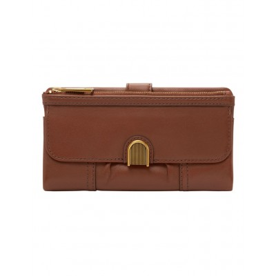Fossil Women's Fossil SL6464200 Brown Cora CLUTCH BAG 2021 New WPXAYUV -