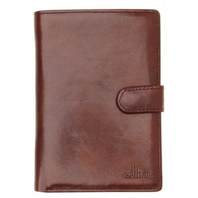 Cellini Women Leather Bifold Wallet with Tab Closure CW0074 Discount XAZOXIC -