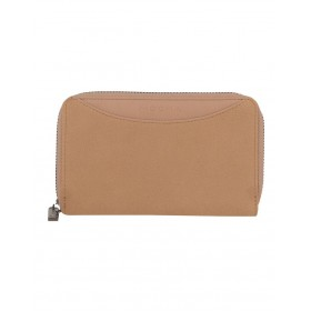 Mocha Women's Mocha Taylor Suede Small Wallet Business Casual NAECEOW -