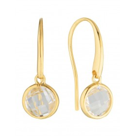 Georgini Women's Lucent Gold Hook Earring Small The Top Selling WDSVCSN -